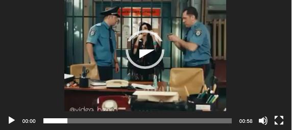 Гадалка в полицейском участке. Видео прикол для ватсап.