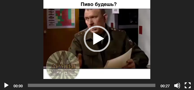 Скачать whatsapp видео — «Пиво будешь?»