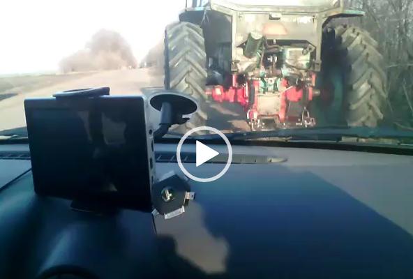 Самый быстрый трактор в мире.