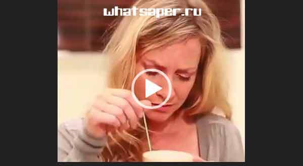 Попила чай. Ржачный видеоролик.