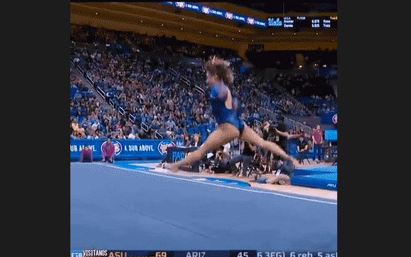 Спортивная гимнастика танец видео скачать