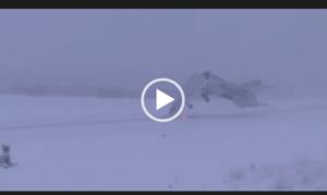 неудачные взлеты и посадки самолетов видео