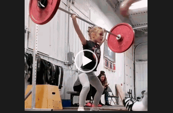 Сильная девочка. Невероятные дети. Скачать.