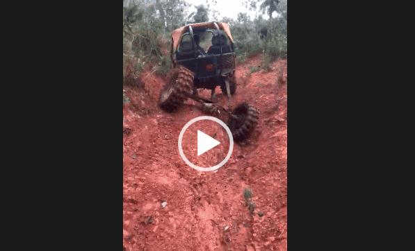 внедорожники видео по грязи