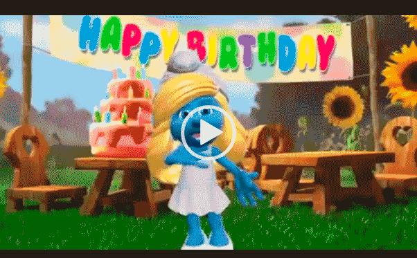 Видео открытка с опозданием поздравляю с днем рождения.