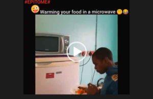 Подогрел еду в холодильнике/ Ржачные приколы. Смотреть видео.