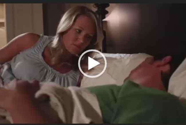 Жена ударила мужа. Смешное видео.
