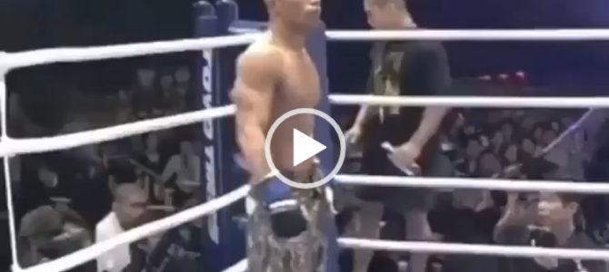 Нокаут с коленки в UFC. Быстрые нокауты.