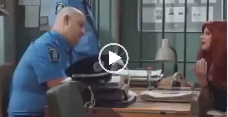 Пришла за деньгами в полицию/ Приколы с полицией