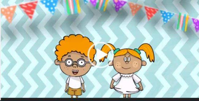Смешное поздравление с днем рождения для вацапа. Скачать бесплатно короткое видео.