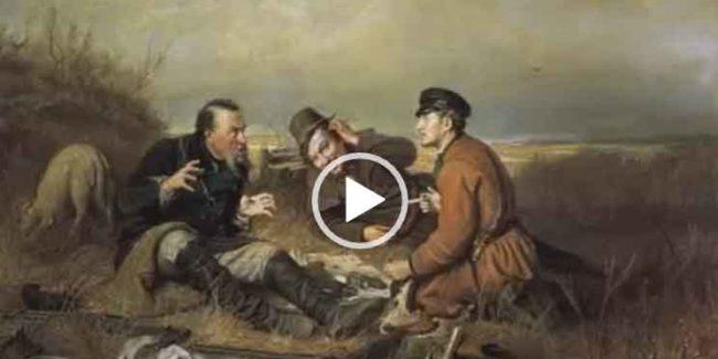 Про рыбаков и охотников. Видео песня для ватсапа.