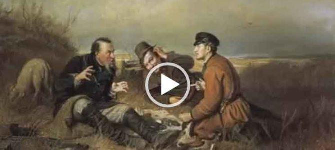 Про рыбаков и охотников. Душевная видео песня.