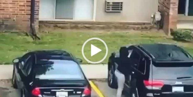 Взрыв в автомобиле. Невероятное видео про девушек за рулем.