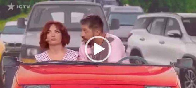 Диалог двух пар в автомобильной пробке. Приколы в автомобиле скачать.