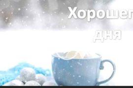 Хорошего зимнего дня. Красивая видео открытка. Скачать бесплатно.
