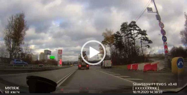 авто авария - когда повезло!