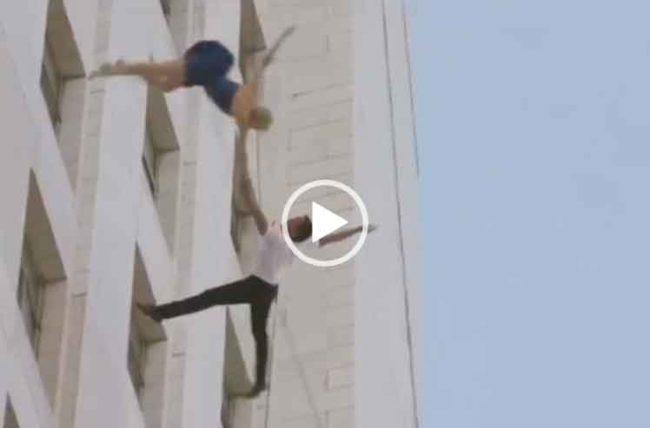 Танец на здании скачать бесплатно видео для вацапа.