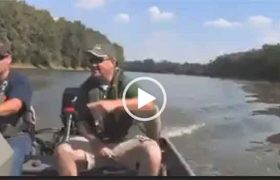 Рыбалка без удочки. Невероятно интересное видео.